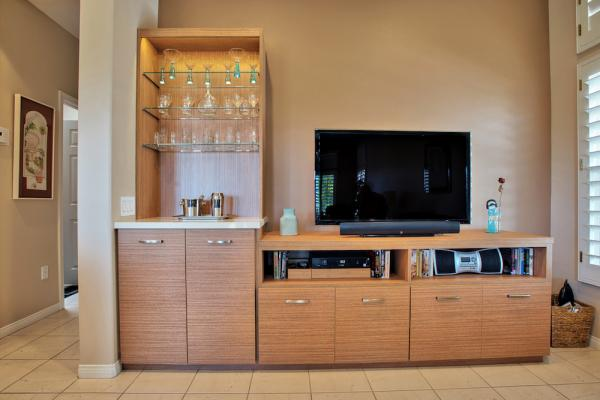Son Cabinetry & Design - Media Center 01